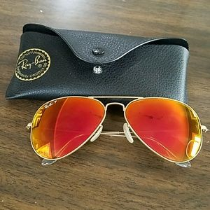 eedde12176c4c where can i buy ray ban accessories ray ban 3025 polarized red flash mirror  aviator 012e3